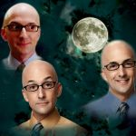 Community's Dean Craig Pelton (Jim Rash) x Three Wolf Moon
