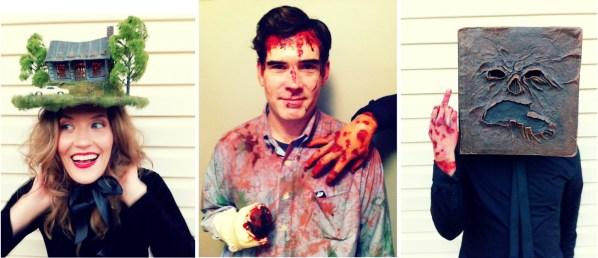 Evil Dead Halloween Costumes - Cabin Hat, Ash Williams, Necronomicon, Bruce Campbell