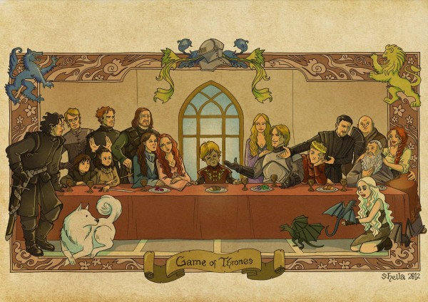 Game of Thrones Last Supper by sheilalala - Tyrion Lannister, Jesus, song of ice and fire