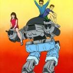 ED-2090210 by Alex Pardee [RoboCop x Beverly Hills 90210 Mashup Art]
