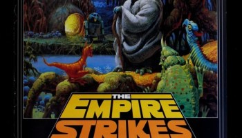 dharma strikes back lost star wars mashup art  the empire strikes back radio drama 1983