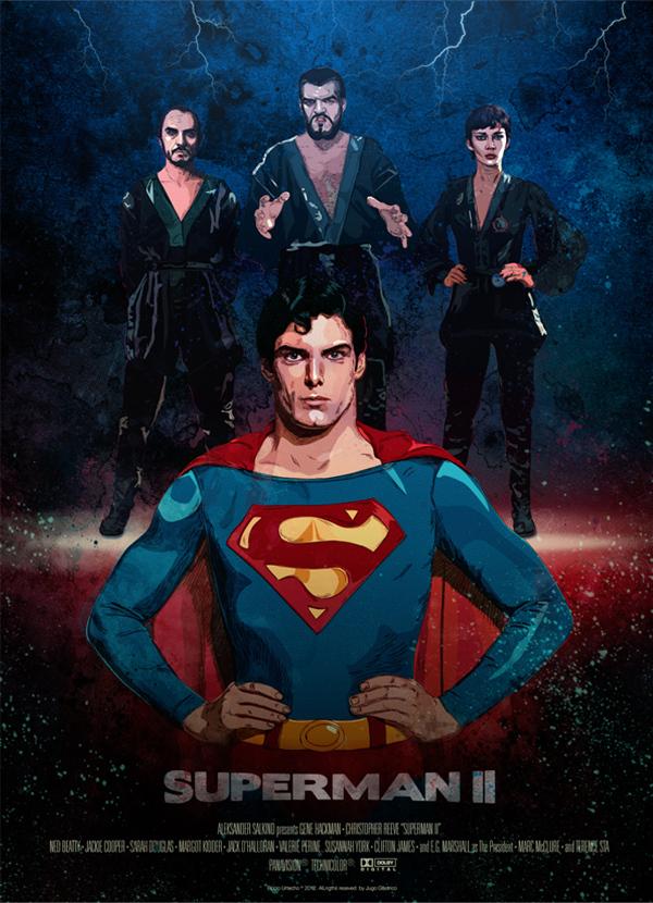 Superman II, Christopher Reeve, Gernal Zod, Non, Ursa