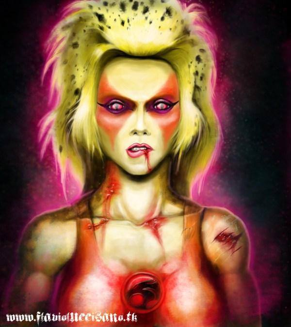Cheetara by Flavio Luccisano - ThunderCats, Fan Art