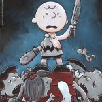 Peanuts x Army of Darkness - Evil Dead III, Ash, Bruce Campbell, Charlie Brown