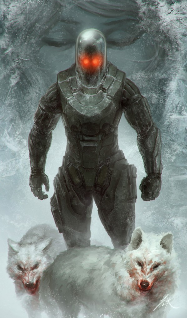 Mr. Freeze: Heart of Ice by Jimmy Xu - Batman, Comics, Victor Fries
