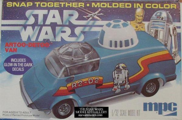 Artoo-Detoo Custom Van Model Kit - Star Wars - R2-D2
