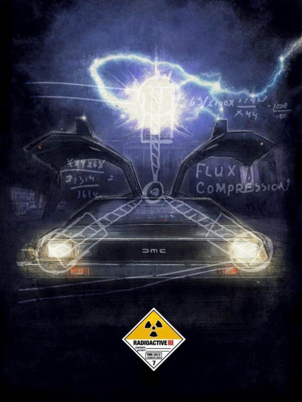 The Time Machine by Paul Shipper - Back to the Future DeLorean, Flux Capacitor