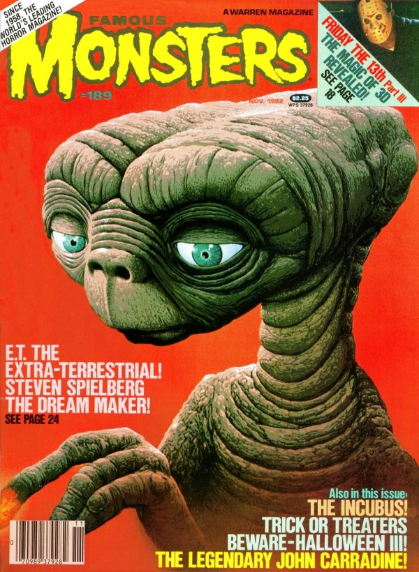 Famous Monsters of Filmland #189 - E.T. the Extra-Terrestrial