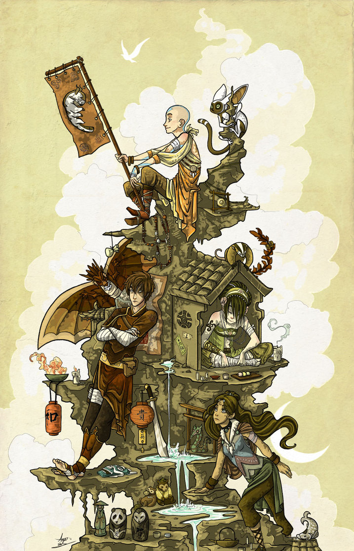 Build This World Together Avatar: The Last Airbender Art