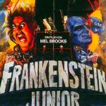 Frankenstein Junior - German Young Frankenstein Poster - Mel Brooks, Gene Wilder