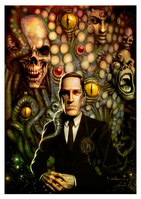 H. P. Lovecraft by Carlos Valenzuela
