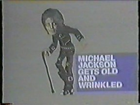 Michael Jackson Gets Old and Wrinkled