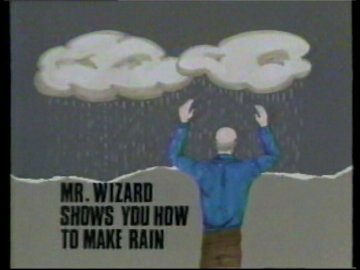 Mr Wizard Shows You How to Make Rain