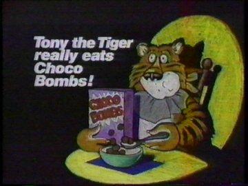 Tony the Tiger Really Eats Choco Bombs