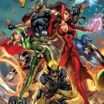 Uncanny Avengers 1 Midtown Exclusive J Scott Campbell Connecting Variant Cover Part 1 of 3