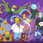 Simpsons x Spider-Man Mashup by Terry Ververgaert