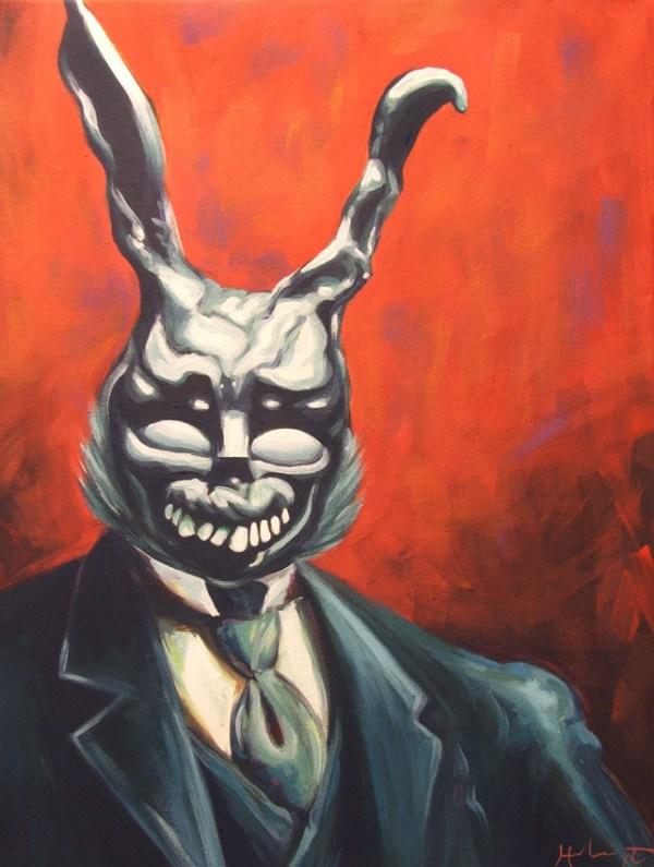 Frank from Donnie Darko Portrait by Hillary White