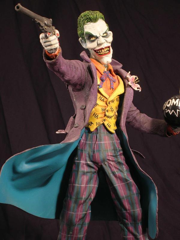 The Joker sculpture by Micky Betts - Batman Comics