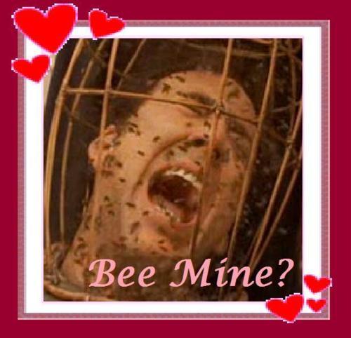 Bee mine? - Nicolas Cage Valentine's Day Card