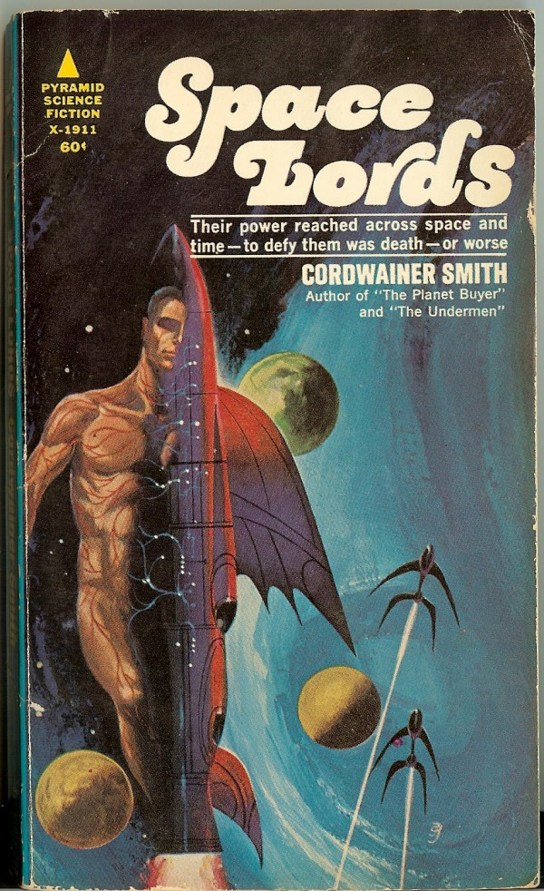 Space Lords - Cordwainer Smith - art by jack gaughan