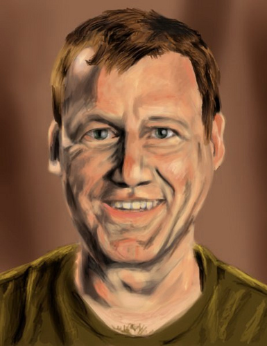 Michael J Nelson - MST3K / Rifftrax Cast Portraits by UltimateHurl