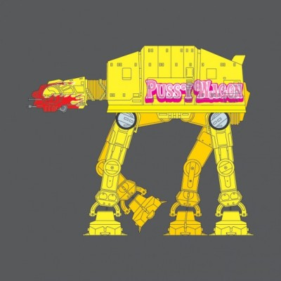 Pussy Wagon AT-AT - Star Wars, Kill Bill