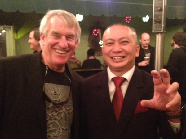 The Dad from Troll 2 with The Director of Birdemic - George Hardy and James Nguyen