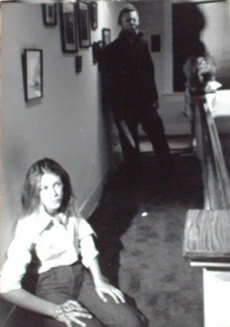 Halloween Behind the Scenes: Jamie Lee Curtis and Michael Myers (Nick Castle)