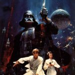 Star Wars (1977) Art by John Berkey