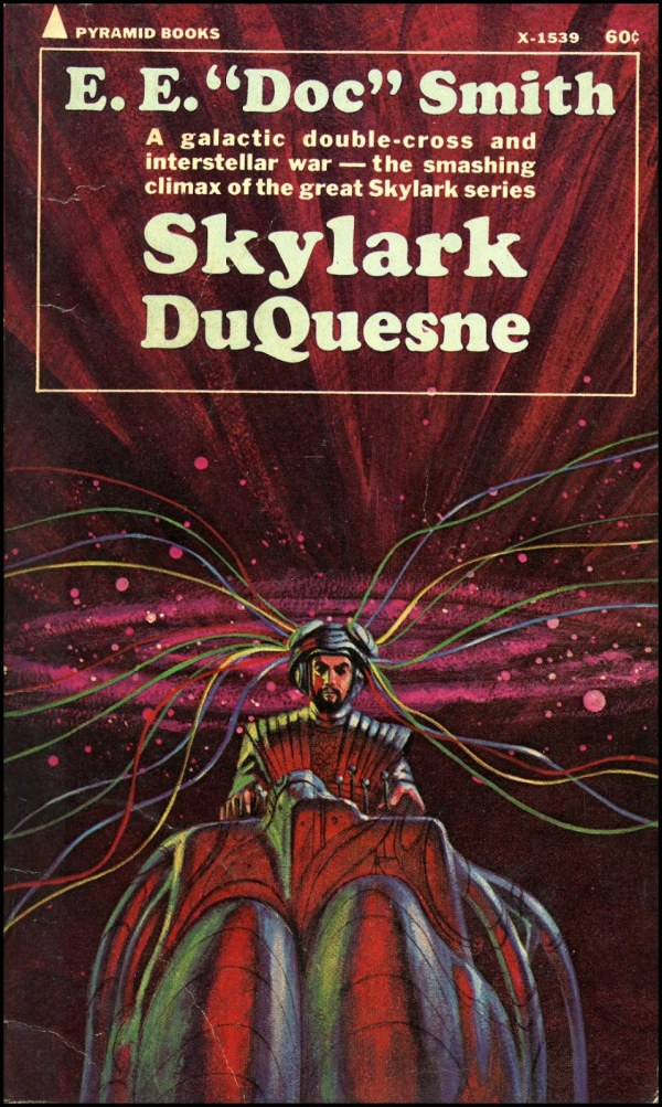 vintage science fiction book covers by jack gaughan