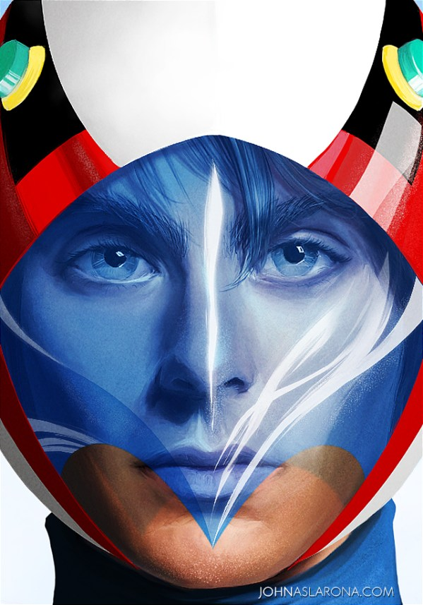 Gatchaman - Battle of the Planets - G-Force - Ace Goodheart by John Aslarona