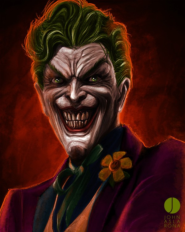 Killer Smile by John Aslarona - Joker