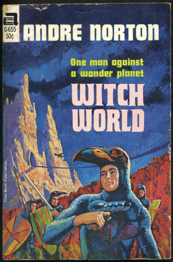 witch world - andre norton - cover by jack gaughan