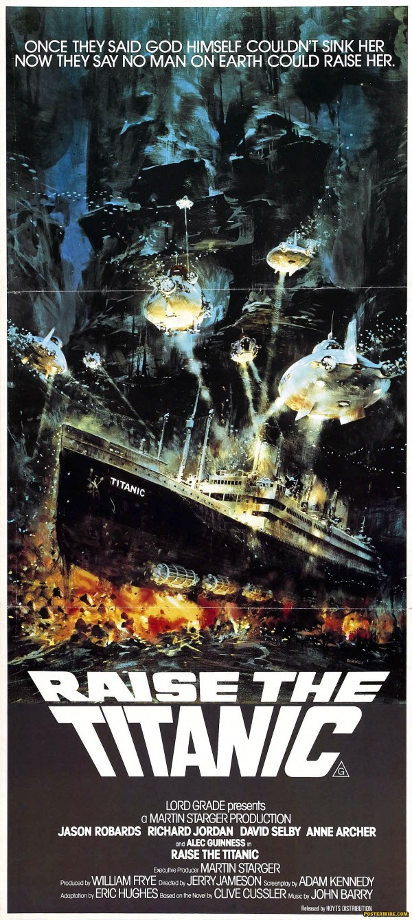 Raise the Titanic (1980) Poster Art by John Berkey