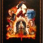 """Game of Thrones"" by Sanjulian - Mondo Art Show"