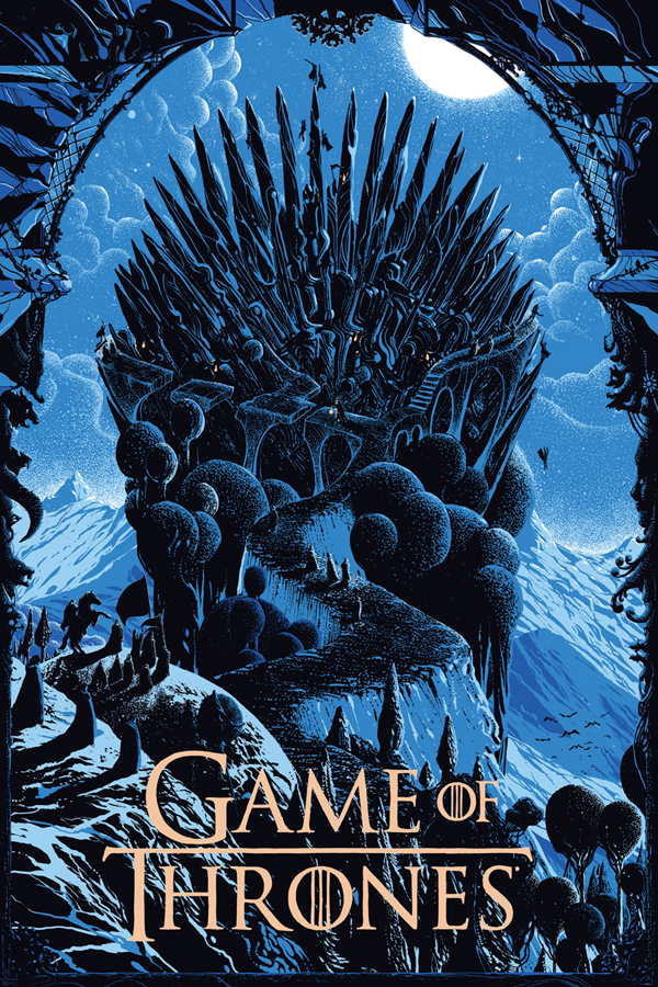 The Prize - Game of Thrones Art by Killian Eng - Mondo Poster