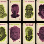 Universal Monsters Old Maid Cards from Milton Bradley (1964)