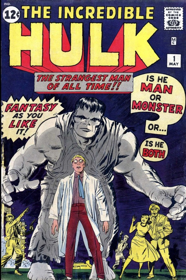 The Incredible Hulk #1 Cover by Jack Kirby - Marvel Comics