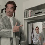 Huey Lewis & Weird Al Yankovic in American Psycho Parody - American Psycho, Christian Bale, Patrick Bateman