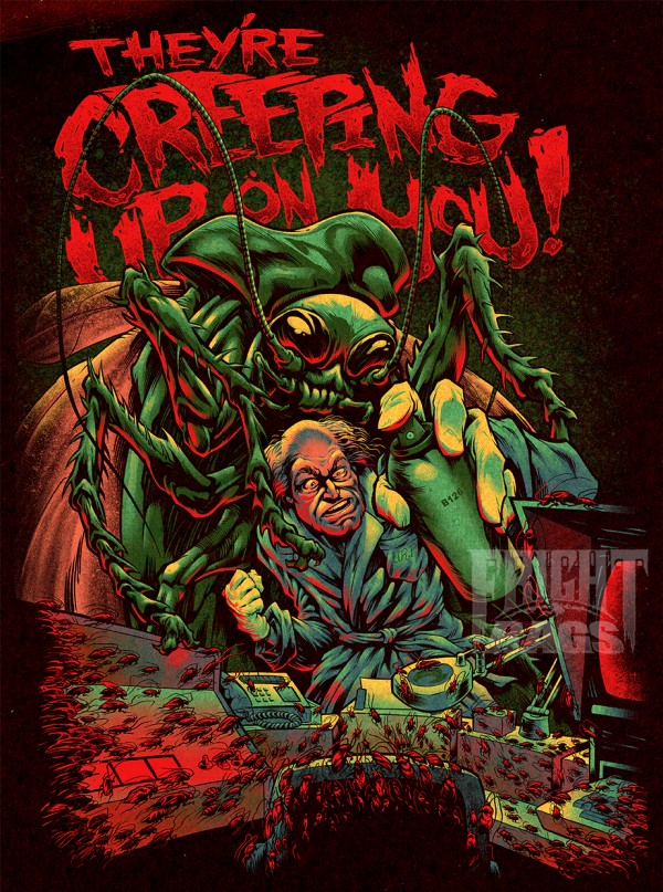 They're Creeping Up on You by Jared Moraitis - Creepshow Fan Art