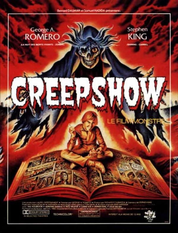Creepshow (1982) - Directed George Romero and Written Stephen King