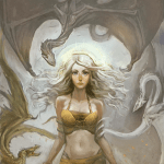 Mother of Dragons - Game of Thrones Art by HungerArtist - Daenerys Stormborn Targaryen