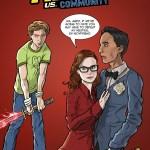 Scott Pilgrim vs Community Mashup by Ben Deguzman