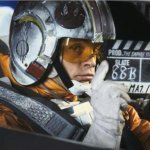 Luke Skywalker (Mark Hamill) - Star Wars Empire Strikes Back Behind the Scenes