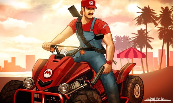 Super Mario Bros x Grand Theft Auto Mashup by Amirul Hafiz - Mario Kart