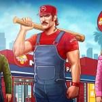 Super Mario Bros x Grand Theft Auto Mashup by Amirul Hafiz - Mushroom Patty
