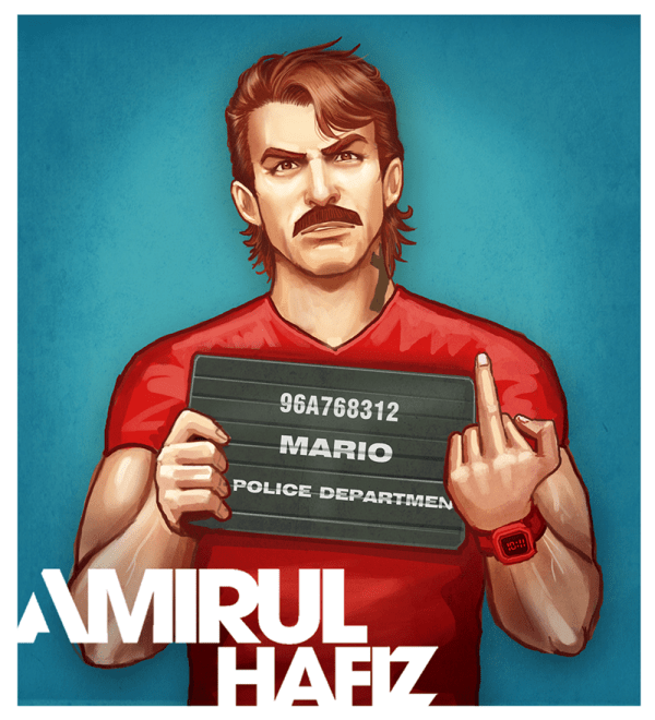 Super Mario Bros x Grand Theft Auto Mashup by Amirul Hafiz - Mugshot