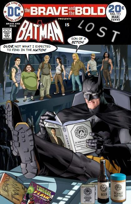 Batman is LOST - DC Comics Crossover
