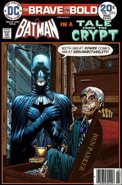 Batman x Tales from the Crypt - DC x EC Comics Crossover