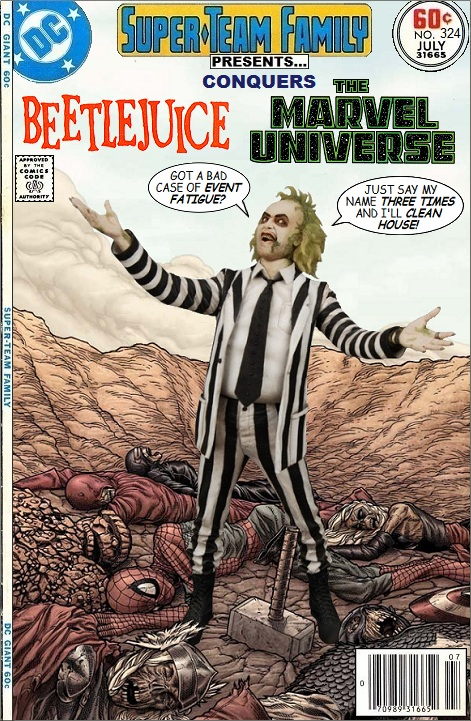 Beetlejuice conquers The Marvel Universe